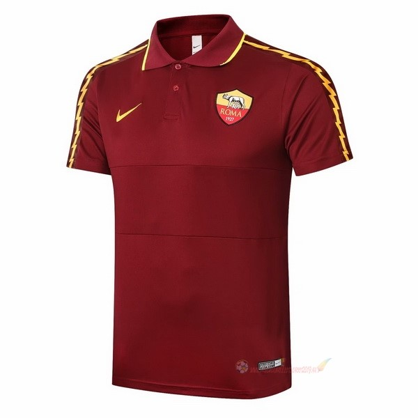 Destockage Maillot De Foot Nike Polo AS Roma 2020 2021 Bordeaux