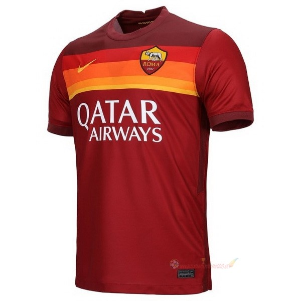 Destockage Maillot De Foot Nike Domicile Maillot As Roma 2020 2021 Rouge