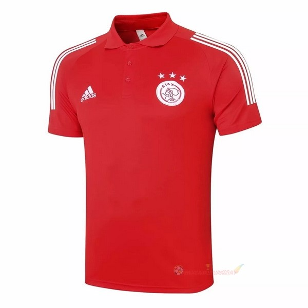 Destockage Maillot De Foot adidas Polo Ajax 2020 2021 Rouge