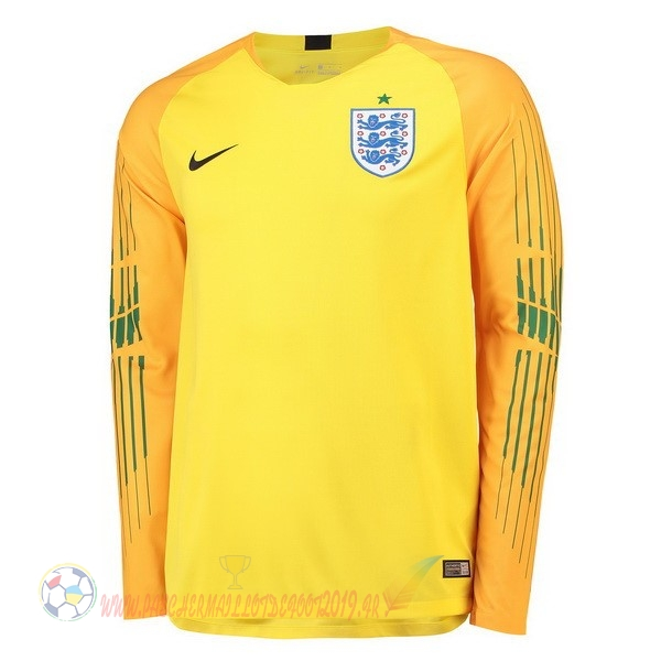 Destockage Maillot De Foot Nike Manches Longues Gardien Angleterre 2018 Jaune