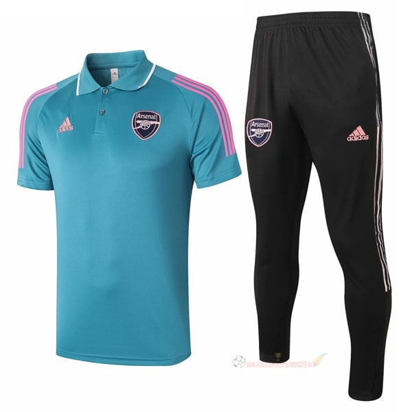 Destockage Maillot De Foot adidas Ensemble Complet Polo Arsenal 2021 2022 Bleu Noir