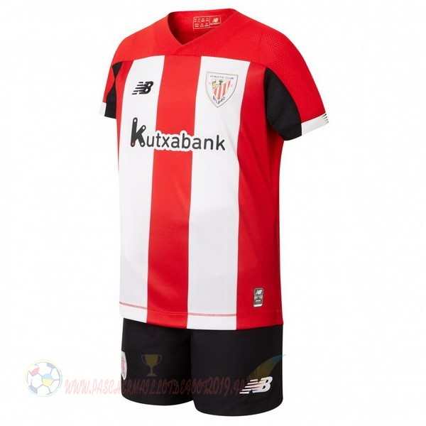 Destockage Maillot De Foot New Balance Domicile Ensemble Enfant Athletic Bilbao 2019 2020 Rouge