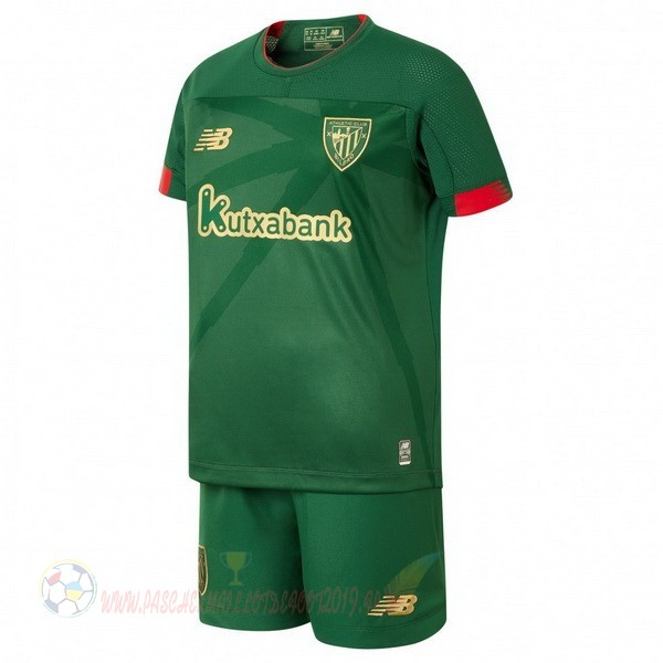 Destockage Maillot De Foot New Balance Exterieur Ensemble Enfant Athletic Bilbao 2019 2020 Vert