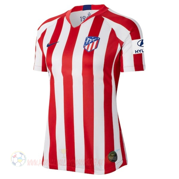 Destockage Maillot De Foot Nike Domicile Maillot Femme Atlético Madrid 2019 2020 Rouge