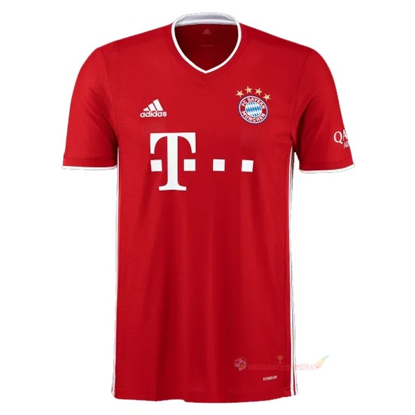 Destockage Maillot De Foot adidas Domicile Maillot Bayern Munich 2020 2021 Rouge