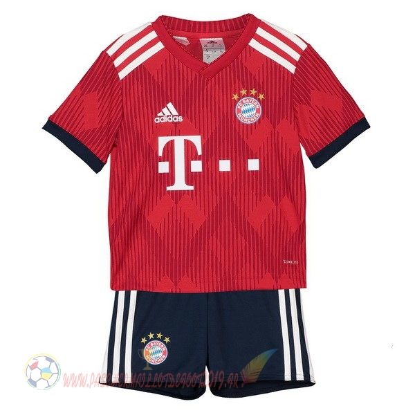 Destockage Maillot De Foot adidas Domicile Ensemble Enfant Bayern Munich 2018 2019 Rouge