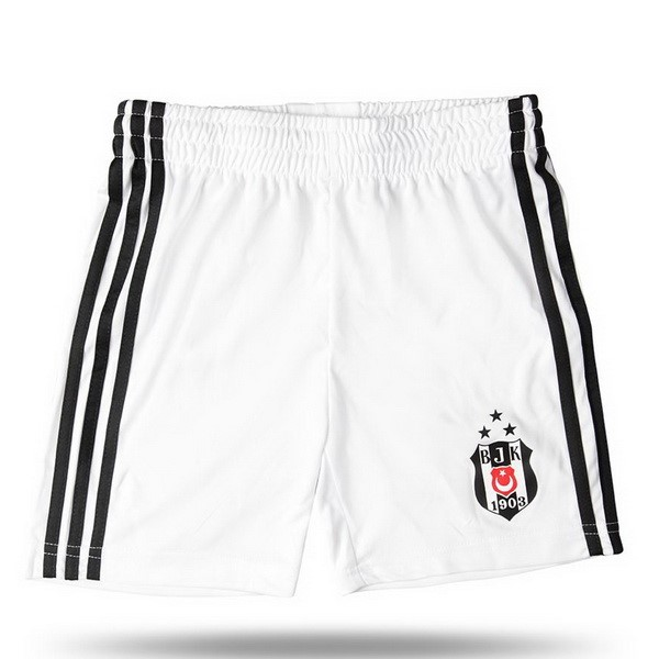 Destockage Maillot De Foot adidas Domicile Ensemble Enfant Besiktas JK 2017 2018 Blanc