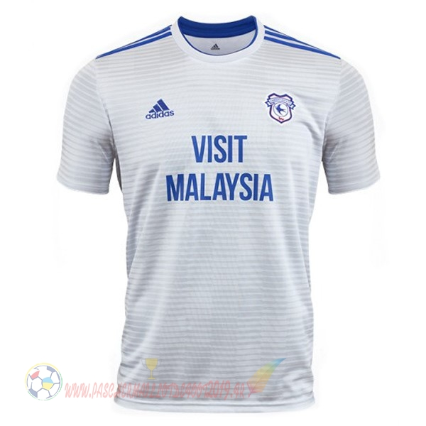 Destockage Maillot De Foot adidas Exterieur Maillots Cardiff City 18-19 Blanc