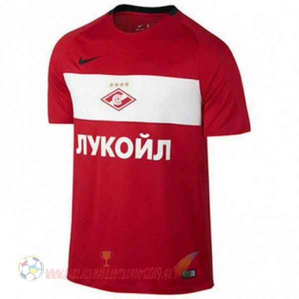 Destockage Maillot De Foot Nike Domicile Maillots Spartak Moscou 2017 2018 Rouge