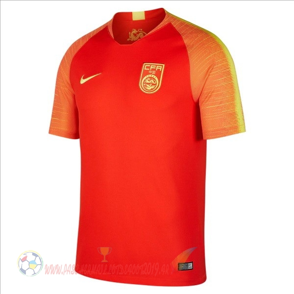 Destockage Maillot De Foot Nike Domicile Maillots Chine 2018 Rouge