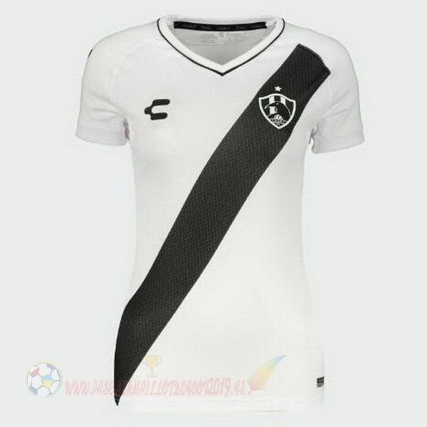 Destockage Maillot De Foot Tenis Charly DomiChili Maillot Femme Cuervos 2019 2020 Blanc
