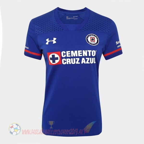 Destockage Maillot De Foot Under Armour Domicile Maillots Femme Cruz Azul 2017 2018 Bleu