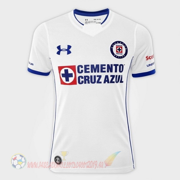 Destockage Maillot De Foot Under Armour Exterieur Maillots Femme Cruz Azul 2017 2018 Blanc
