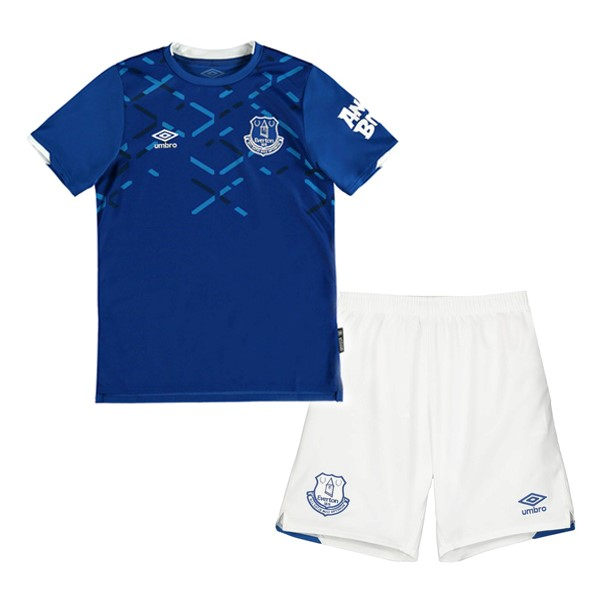 Destockage Maillot De Foot umbro Ensemble Enfant Everton 2019 2020 Bleu Blanc