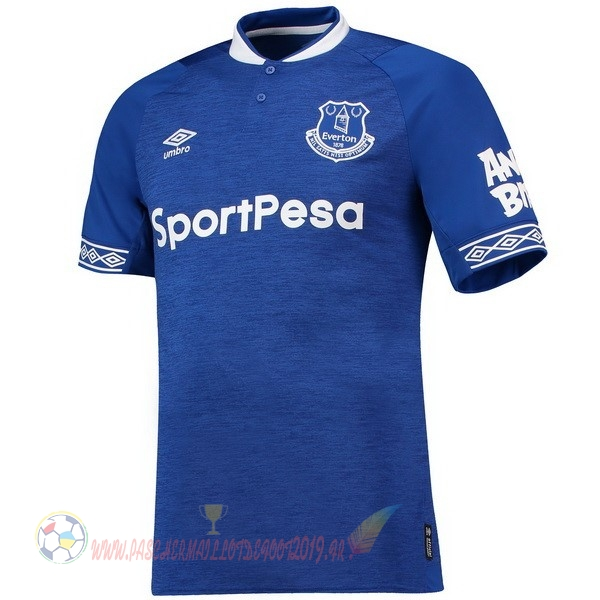 Destockage Maillot De Foot umbro Domicile Maillots Everton 2018 2019 Bleu