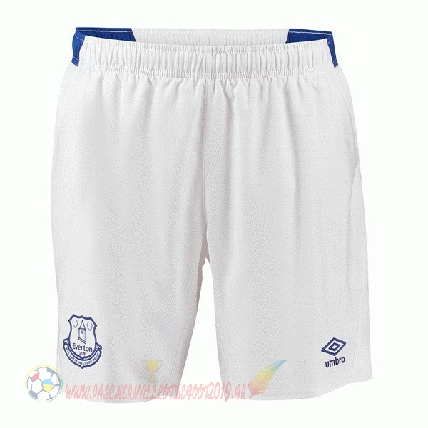Destockage Maillot De Foot umbro Domicile Shorts Everton 2018 2019 Blanc