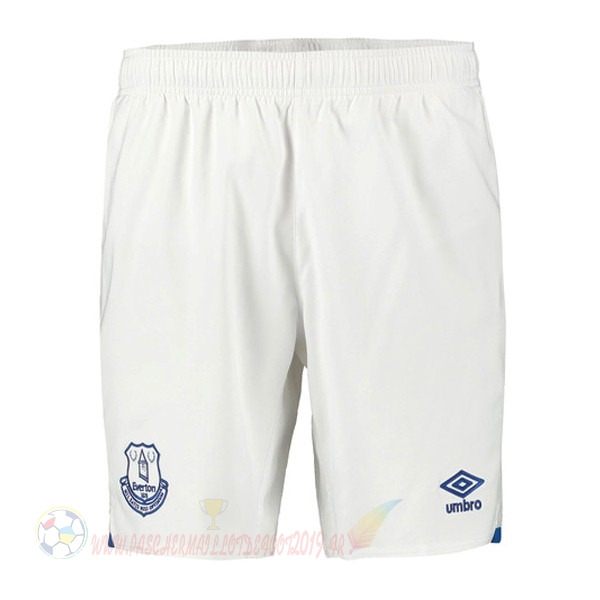 Destockage Maillot De Foot Umbro Domicile Pantalon Everton 2019 2020 Blanc