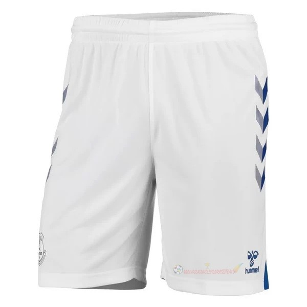 Destockage Maillot De Foot hummel Domicile Pantalon Everton 2020 2021 Blanc