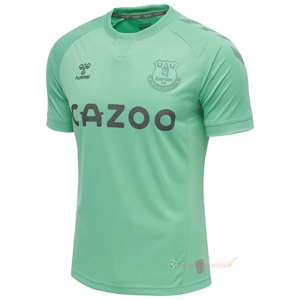 Destockage Maillot De Foot hummel Third Maillot Everton 2020 2021 Vert