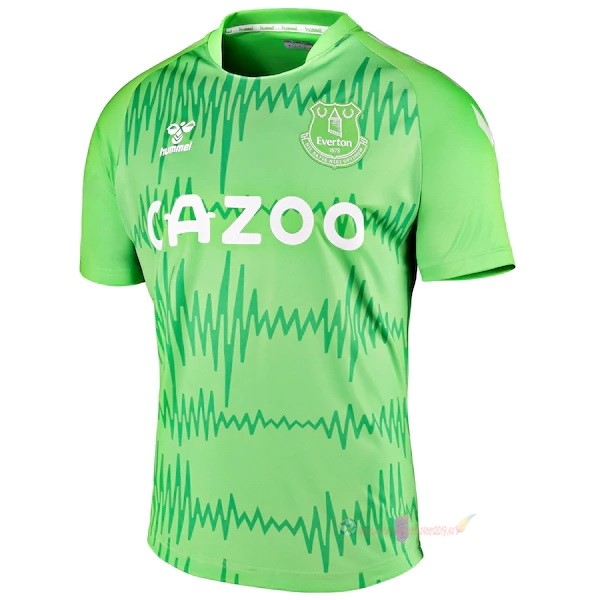 Destockage Maillot De Foot umbro Domicile Maillot Gardien Everton 2020 2021 Vert