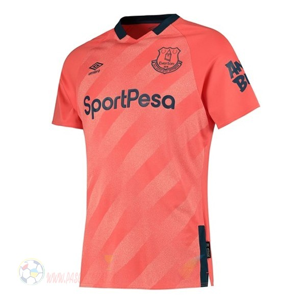 Destockage Maillot De Foot Umbro Exterieur Maillot Everton 2019 2020 Orange