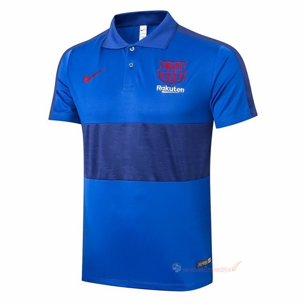 Destockage Maillot De Foot Nike Polo Barcelone 2020 2021 Bleu