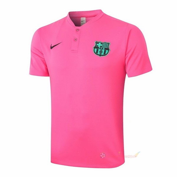 Destockage Maillot De Foot Nike Polo Barcelone 2020 2021 Rose