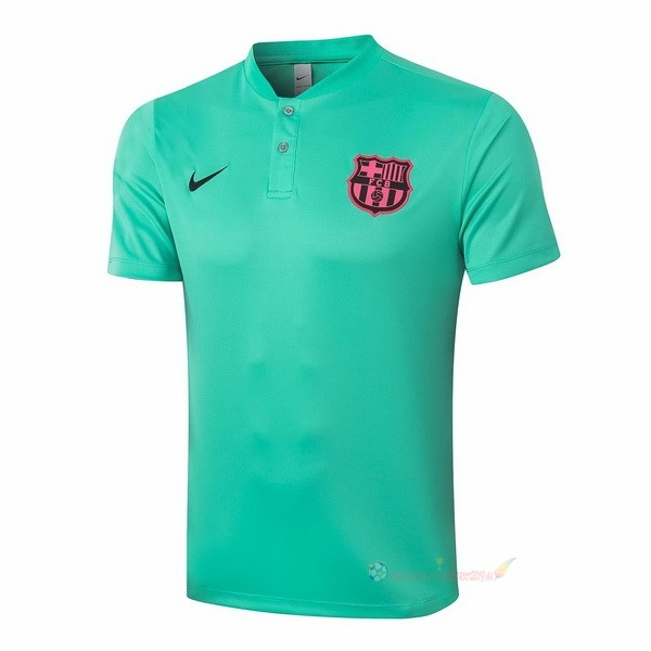 Destockage Maillot De Foot Nike Polo Barcelone 2020 2021 Vert