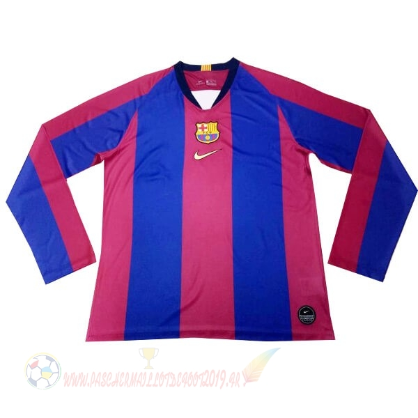 Destockage Maillot De Foot Nike Maillot Manches Longues Barcelona 120th Bleu Rouge