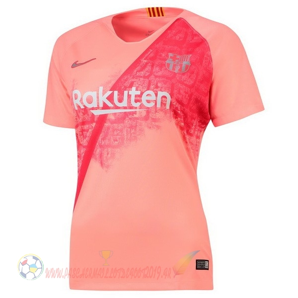 Destockage Maillot De Foot Nike Third Maillots Femme Barcelona 2018-2019 Rouge