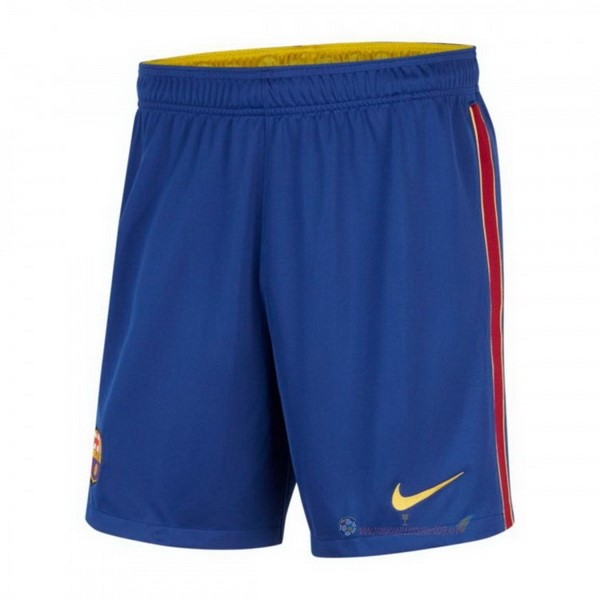Destockage Maillot De Foot Nike Domicile Pantalon Barcelona 2020 2021 Bleu
