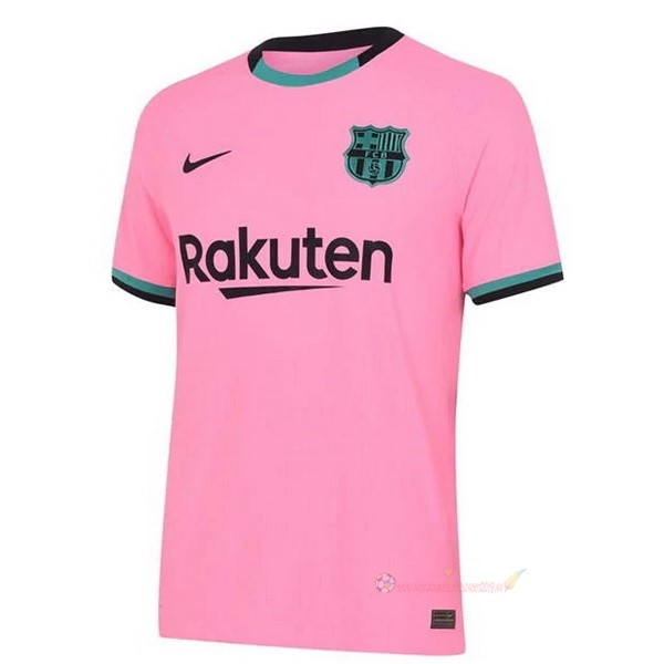 Destockage Maillot De Foot Nike Third Maillot Barcelona 2020 2021 Rose