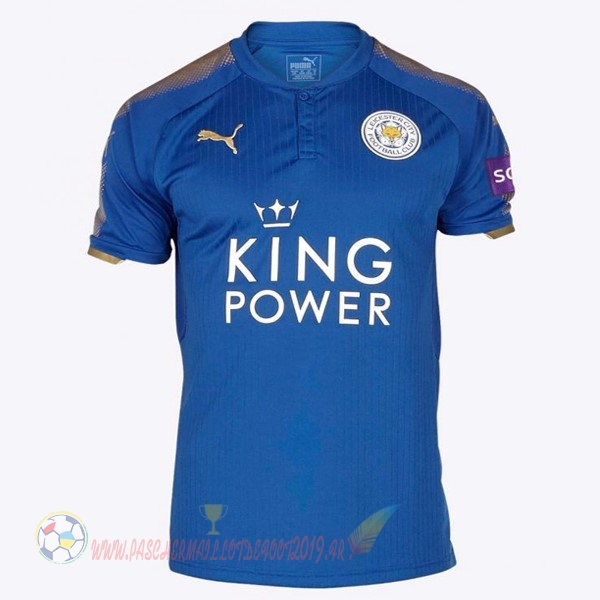 Destockage Maillot De Foot PUMA Domicile Maillots Leicester City 2017 2018 Bleu