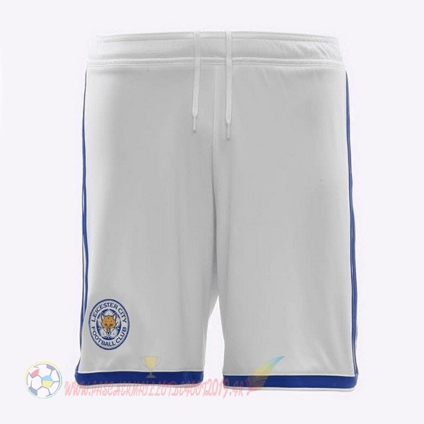 Destockage Maillot De Foot adidas Third Shorts Leicester City 2018-2019 Blanc