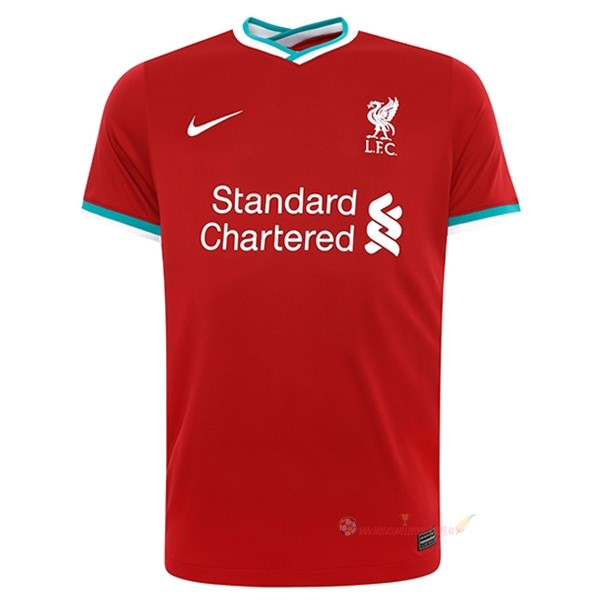 Destockage Maillot De Foot Nike Domicile Maillot Liverpool 2020 2021 Rouge