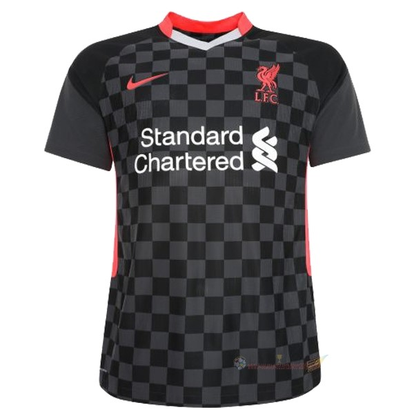 Destockage Maillot De Foot Nike Third Maillot Liverpool 2020 2021 Noir