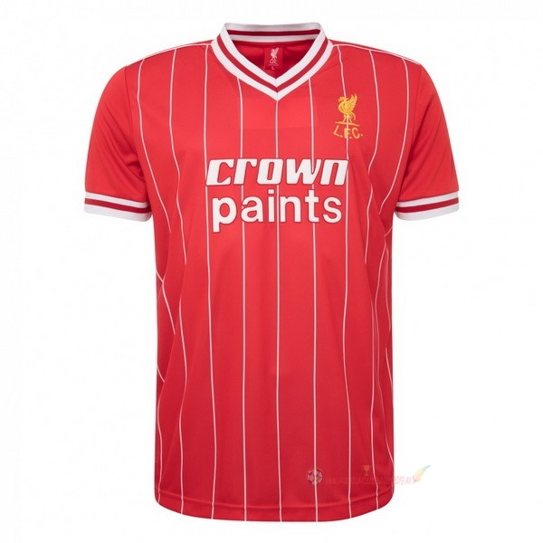 Destockage Maillot De Foot umbro Domicile Maillot Liverpool Rétro 1982 1983 Rouge