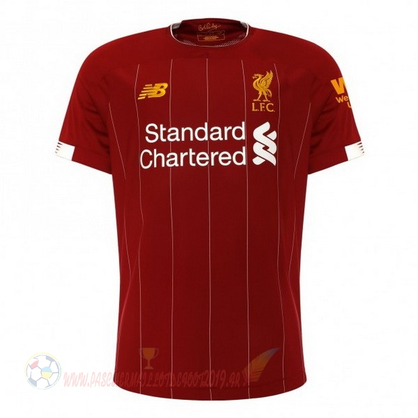 Destockage Maillot De Foot New Balance Domicile Maillot Liverpool 2019 2020 Rouge