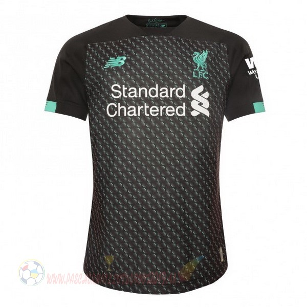 Destockage Maillot De Foot New Balance Thailande Third Maillot Liverpool 2019 2020 Noir