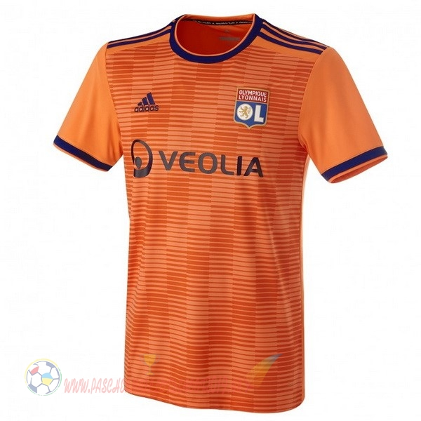 Destockage Maillot De Foot adidas Third Maillots Lyonnais 2018-2019 Orange