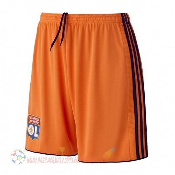 Destockage Maillot De Foot adidas Third Shorts Lyonnais 2018-2019 Orange