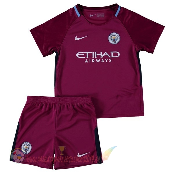 Destockage Maillot De Foot Nike Exterieur Ensemble Enfant Manchester City 2017 2018 Bordeaux