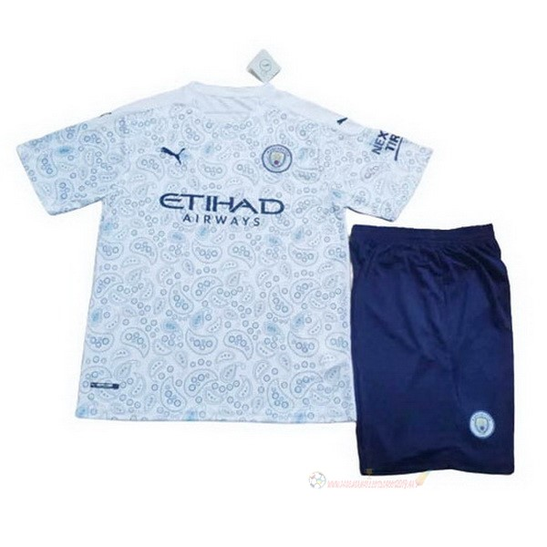 Destockage Maillot De Foot PUMA Third Conjunto De Enfant Manchester City 2020 2021 Bleu