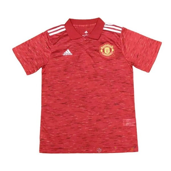 Destockage Maillot De Foot adidas Polo Manchester United 2020 2021 Rouge
