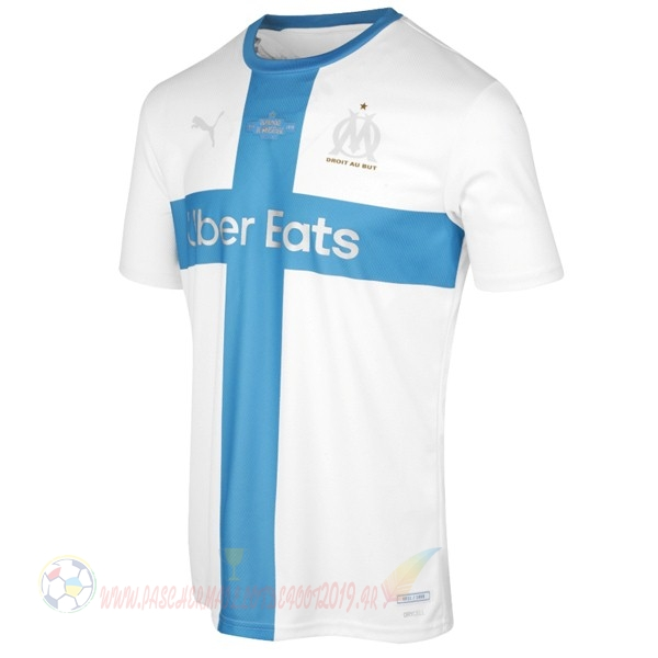 Destockage Maillot De Foot Puma Maillot Marseille 120th Bleu Blanc