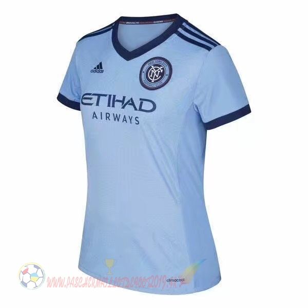 Destockage Maillot De Foot adidas Domicile Maillots Femme New York City 2017 2018 Bleu