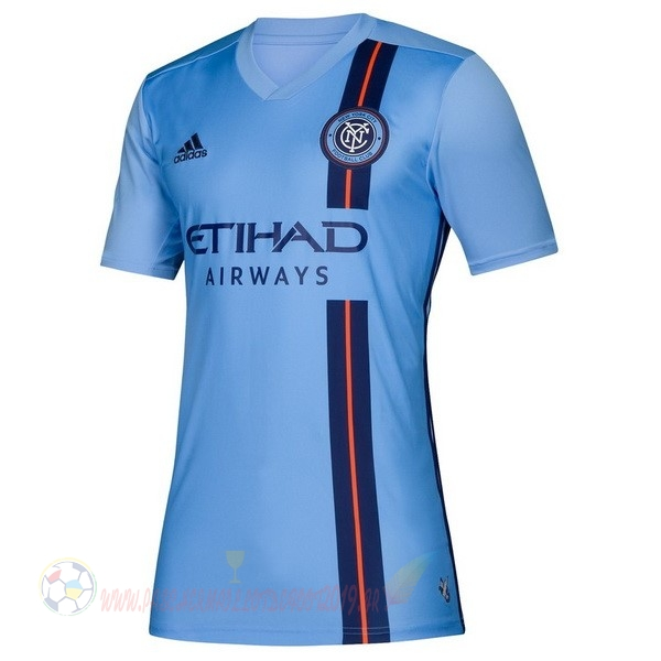 Destockage Maillot De Foot Adidas DomiChili Maillot Femme New York City 2019 2020 Bleu