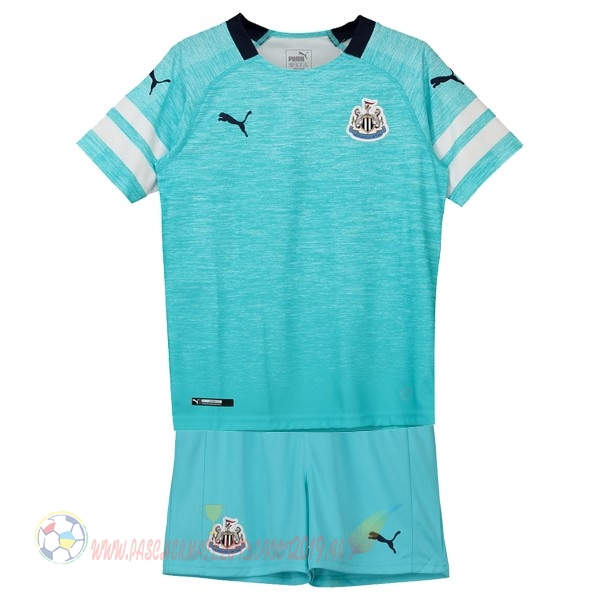 Destockage Maillot De Foot PUMA Third Ensemble Enfant Newcastle United 2018-2019 Bleu
