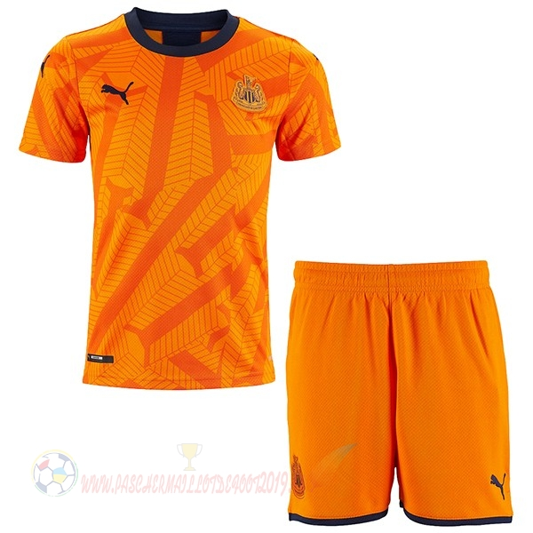 Destockage Maillot De Foot Puma Third Ensemble Enfant Newcastle United 2019 2020 Orange