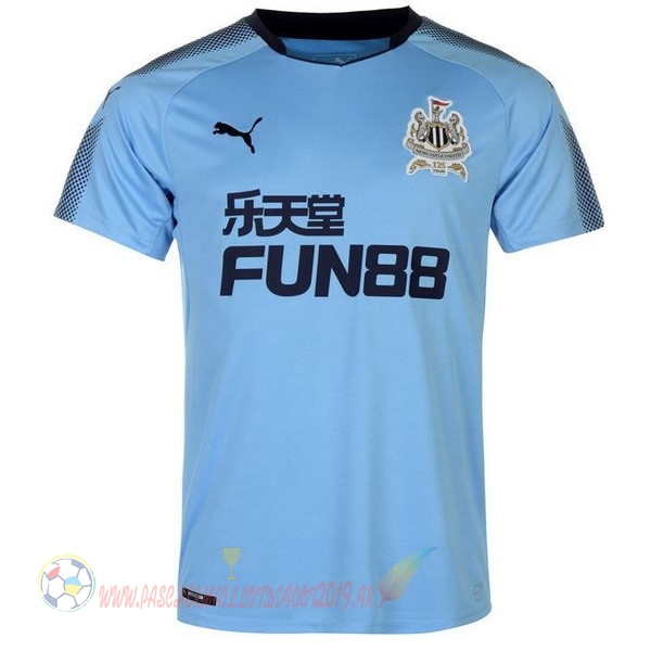 Destockage Maillot De Foot PUMA Exterieur Maillots Newcastle United 2017 2018 Bleu